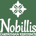 Logo Nobillis Carpathian Residence, white SQ